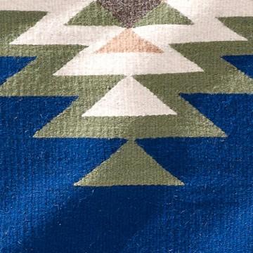 Teppich - Zapotec Tradicional Agua 60 x 100 cm