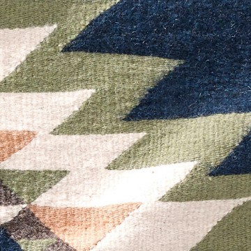 Teppich - Zapotec Tradicional Mar 80 x 150 cm